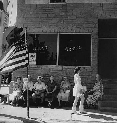 Hoover Hotel, 1954<br/>