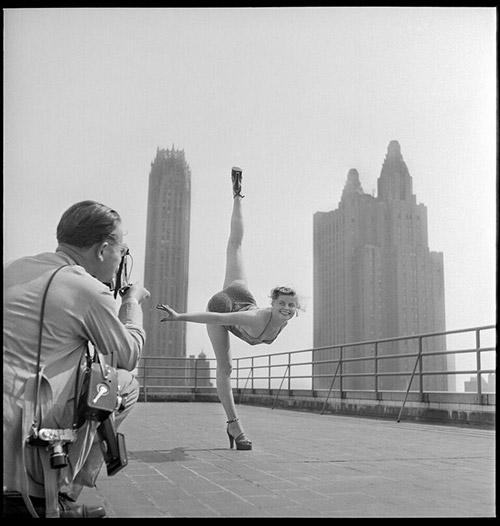 Contortionist -  Contortionist, New York City, 1951<br/>