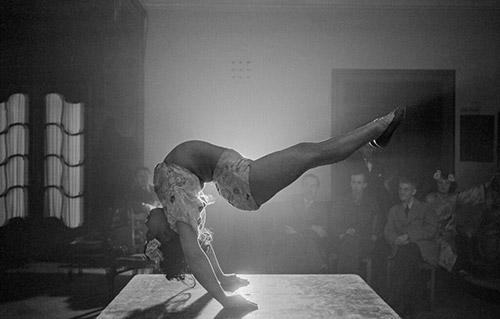 Contortionist Party - Contortionist Party, Hamburg, Germany 1947 Archival Pigment Print