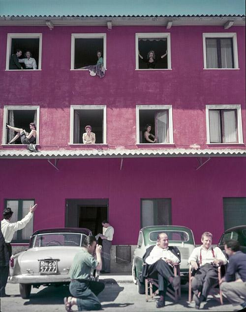 "Extra on the set of ""8 1/2"", Lazio, Italy, 1962<br/>"