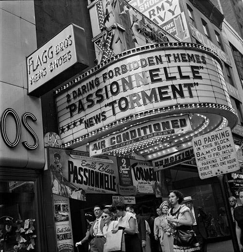 PIX Theater, New York, 1947<br/>