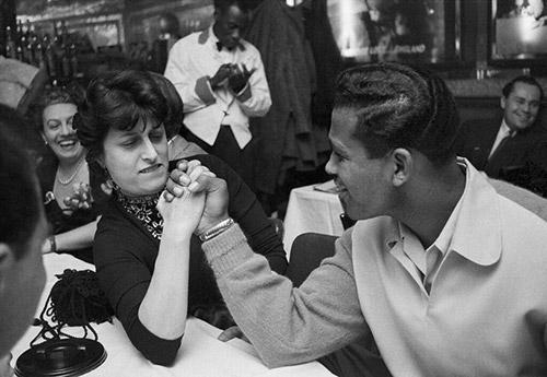 Anna Magnani and Sugar Ray Robinson, Harlem NY 1953<br/>