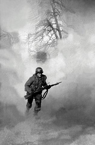 Running Soldier, Battle of the Bulge, 1944<br/>