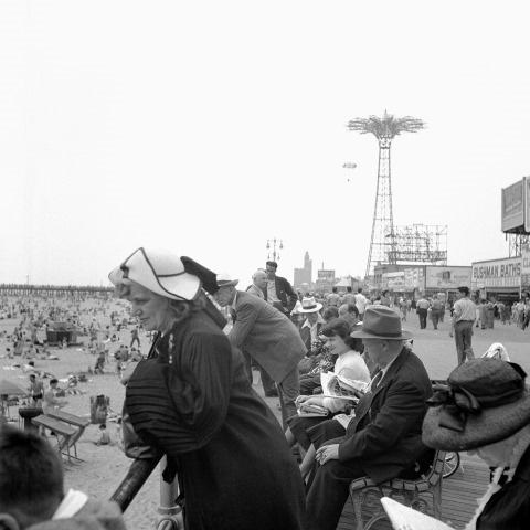 Coney Island, New York,1948<br/>