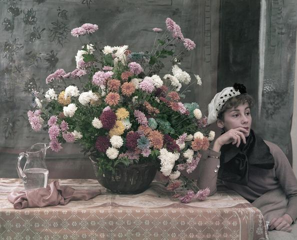 After Degas: Woman and Flowers, New York City 1960<br/>