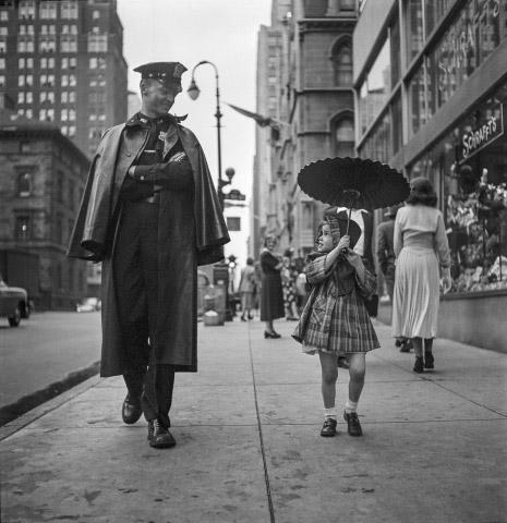 Going for a walk, New York, 1950<br/>