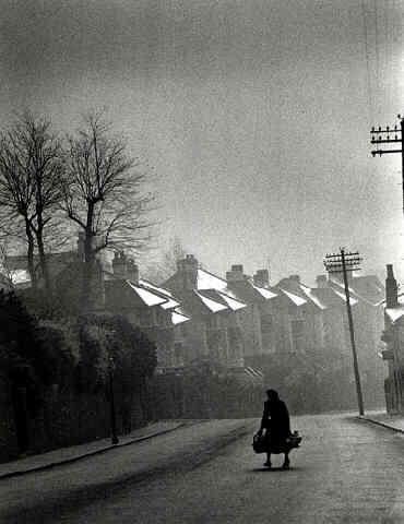 Fog Coming in, Swansea, Wales, 1954<br/>
