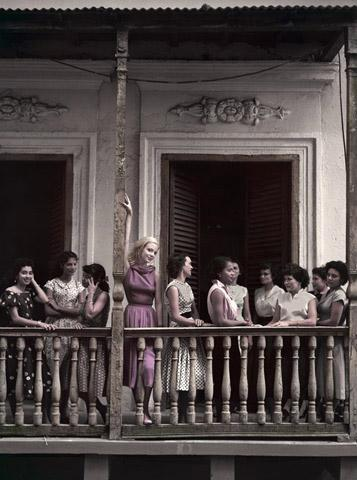 The Pink Balcony, Puerto Rico, 1951