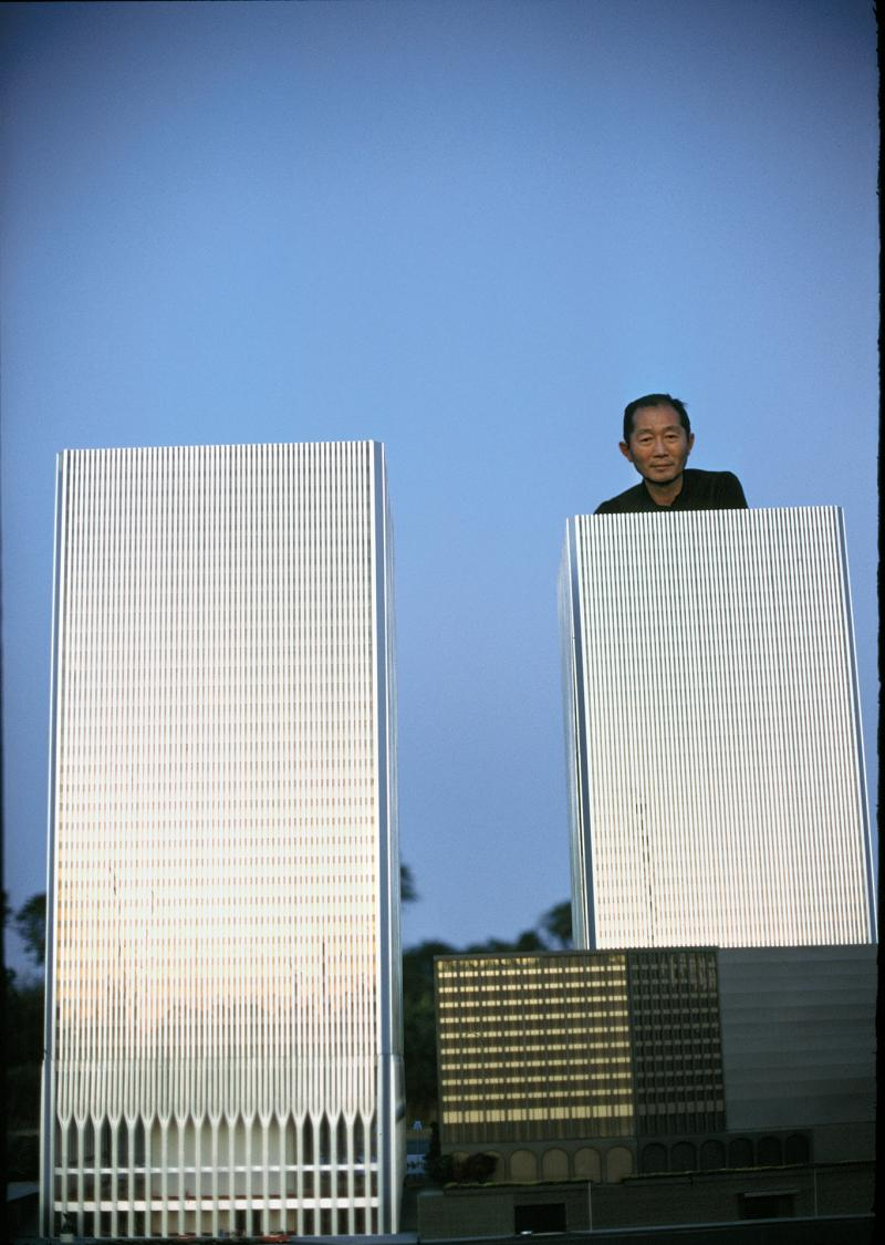 Minoru Yamasaki, World Trade Center Architect, 1969 Archival Pigment Print
