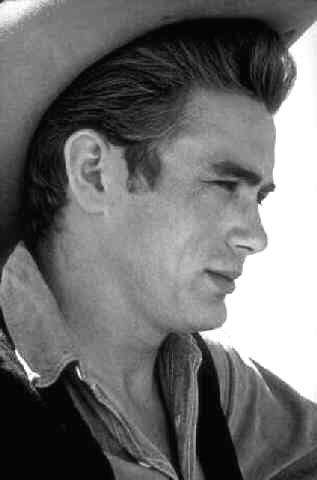 "James Dean On Location for ""Giant"" in Marfa, Texas, 1955<br/>"