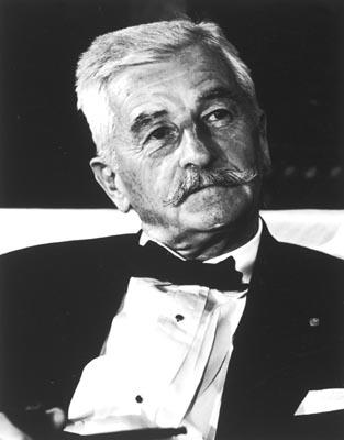 Nobel Prize Laureate William Faulkner, West Point, 1962 (Time Inc.) Gelatin Silver print