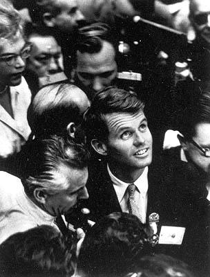 Robert Kennedy, Democratic Convention, 1960 (? Time Inc.) Gelatin Silver print