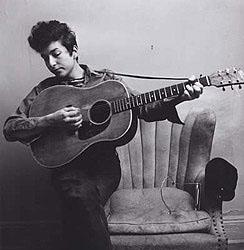 Bob Dylan, New York, 1963<br/>