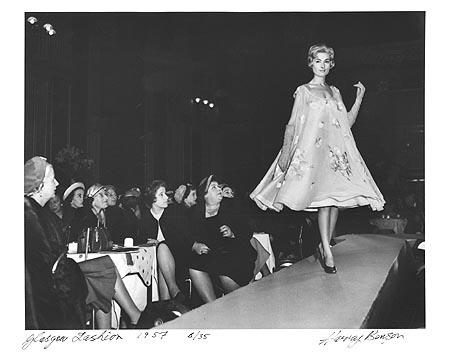 Dior Comes to Glasgow, 1957 Gelatin Silver print