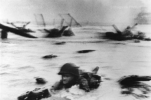 D-Day, Normandy, Omaha Beach, June 6th, 1944.<br/>