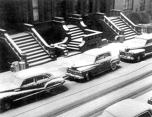White Stoops, New York, 1951