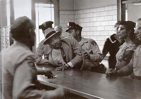 Martin Luther King, Jr. Arrested on a Loitering Charge, Montgomery, September 3, 1958<br/>