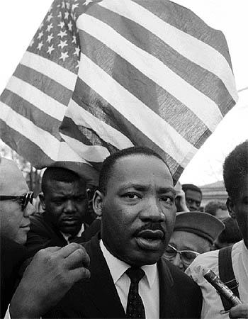 Martin Luther King, Alabama, 1965<br/>