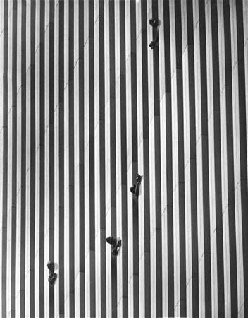 Workers at the World Trade Center construction, 1973 Vintage Gelatin Silver Print