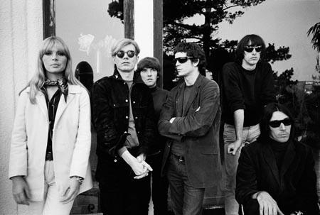 Andy Warhol, Nico and the Velvet Underground, Los Angeles, California, 1965 Gelatin Silver print