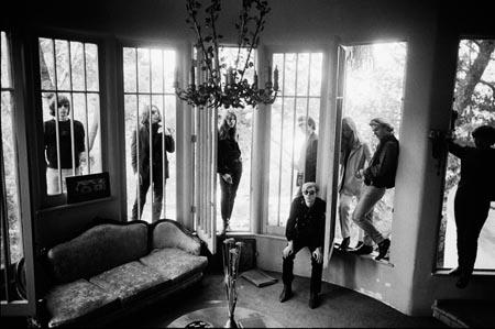 Andy Warhol, Nico and the Velvet Underground, Los Angeles, California, 1965 (windows)<br/>