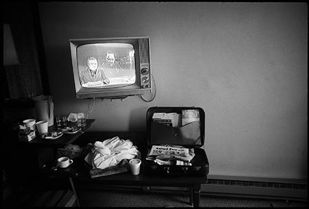 Martin Luther King Jr's Motel Room Hours After He Was Shot, Memphis, Tennessee 1968 Gelatin Silver print
