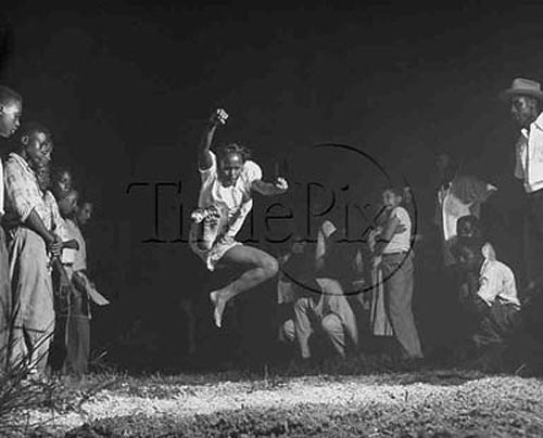 Broad Jump Competition, New Orleans, 1949
