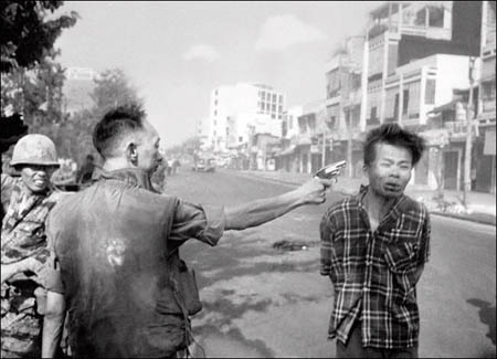 Street Execution of a Viet Cong Prisoner, Saigon, 1968