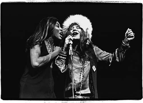 Janis and Tina, Madison Square Garden, November 27, 1969