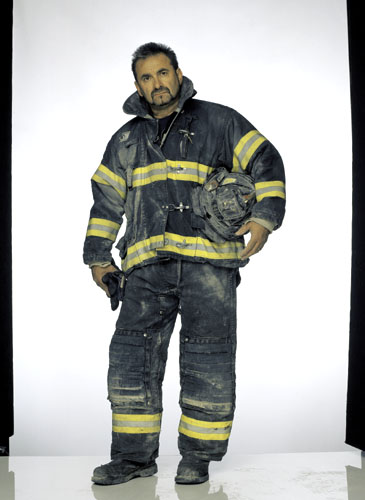Faces of Ground Zero: Louie Cacchioli, Firefighter, Engine 47, FDNY