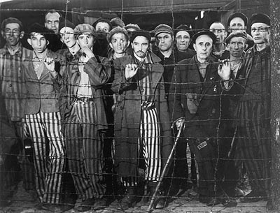 Buchenwald Prisoners, 1945 (Time Inc.)