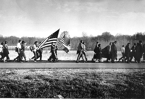 On the Road, the Selma March, 1965