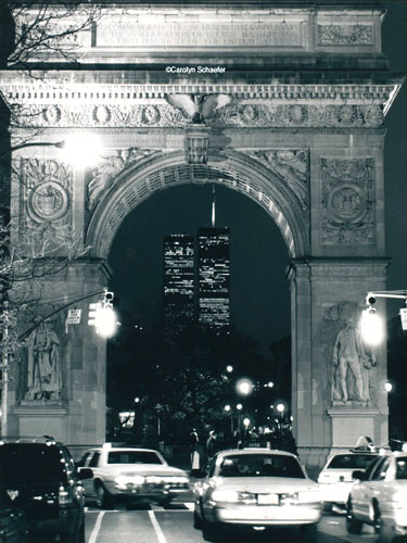 World Trade Center and Washington Square Arch, New York, 1998