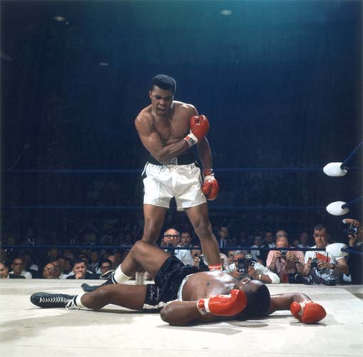 Muhammad Ali Knocks Out Sonny Liston, Lewiston, Maine, May 25, 1965