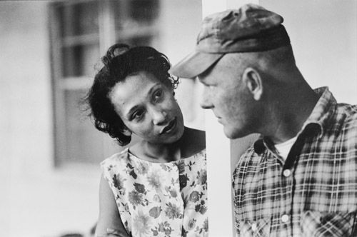 Mildred and Richard Loving, King and Queen County, Virginia in April 1965